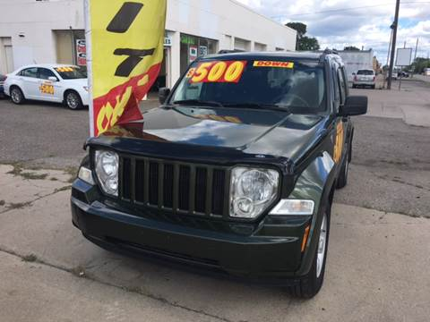 2009 Jeep Liberty for sale at National Auto Sales Inc. - Hazel Park Lot in Hazel Park MI