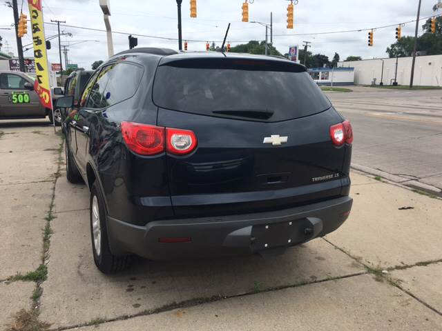 2011 Chevrolet Traverse for sale at National Auto Sales Inc. - Hazel Park Lot in Hazel Park MI