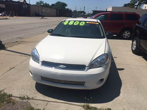 2007 Chevrolet Monte Carlo for sale at National Auto Sales Inc. - Hazel Park Lot in Hazel Park MI