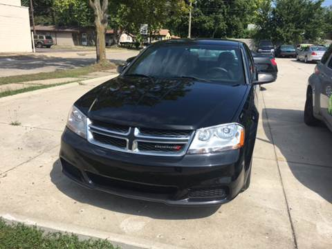 2013 Dodge Avenger for sale at National Auto Sales Inc. - Hazel Park Lot in Hazel Park MI