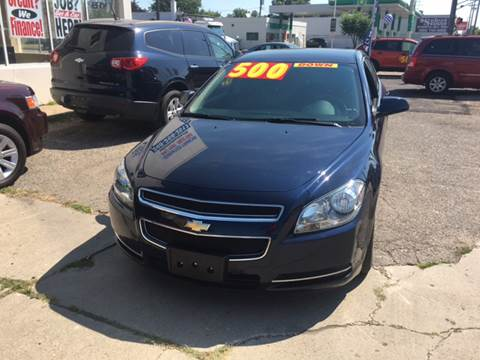 2010 Chevrolet Malibu for sale at National Auto Sales Inc. - Hazel Park Lot in Hazel Park MI