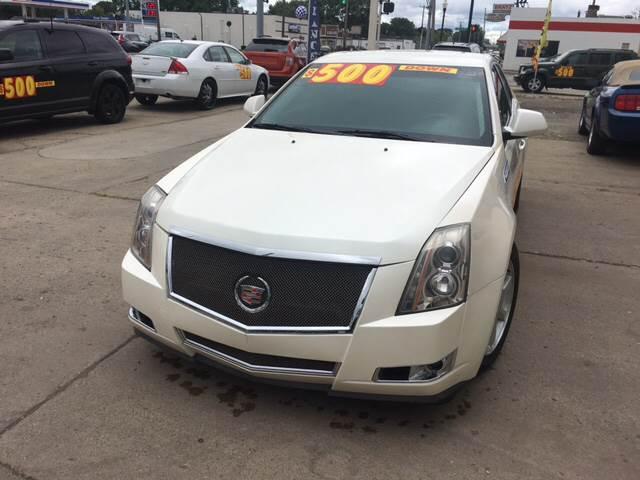 2009 Cadillac CTS for sale at National Auto Sales Inc. - Hazel Park Lot in Hazel Park MI