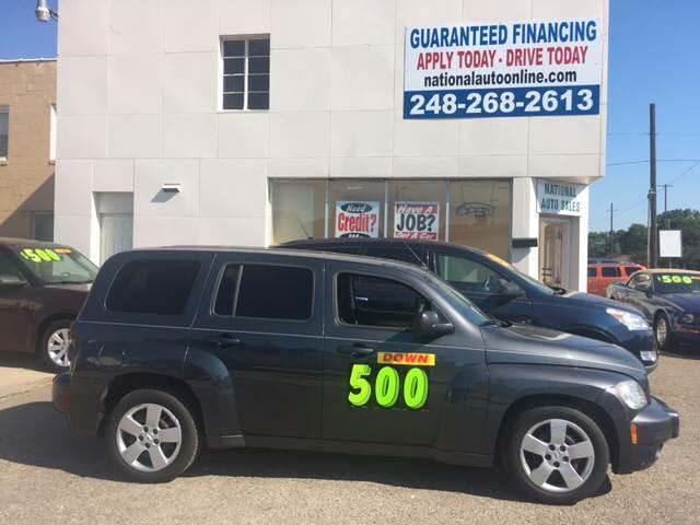 2011 Chevrolet HHR for sale at National Auto Sales Inc. - Hazel Park Lot in Hazel Park MI
