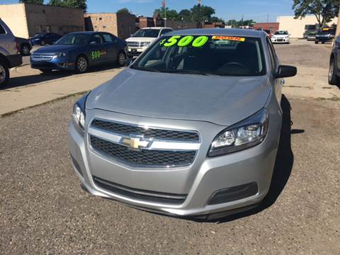 2013 Chevrolet Malibu for sale at National Auto Sales Inc. - Hazel Park Lot in Hazel Park MI