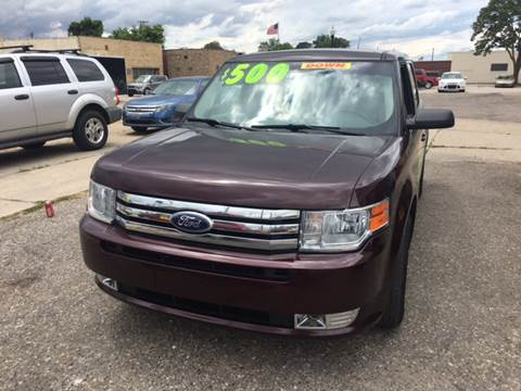 2011 Ford Flex for sale at National Auto Sales Inc. - Hazel Park Lot in Hazel Park MI