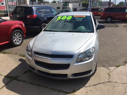 2012 Chevrolet Malibu for sale at National Auto Sales Inc. - Hazel Park Lot in Hazel Park MI