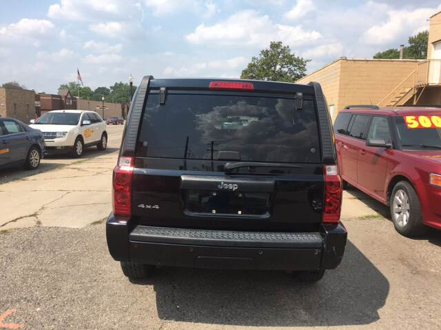 2006 Jeep Commander for sale at National Auto Sales Inc. - Hazel Park Lot in Hazel Park MI