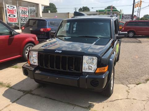 2006 Jeep Commander for sale at National Auto Sales Inc. - Hazel Park Lot in Hazel Park MI