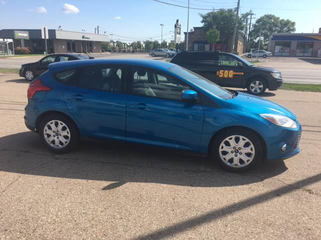 2012 Ford Focus for sale at National Auto Sales Inc. - Hazel Park Lot in Hazel Park MI