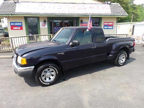 2002 Ford Ranger for sale in Norfolk, VA