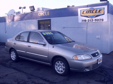 2001 Nissan Sentra for sale at Circle Auto Center in Colorado Springs CO