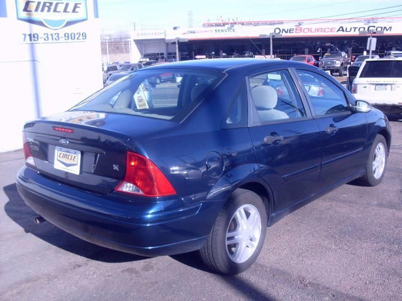 2001 ford focus se 4dr sedan