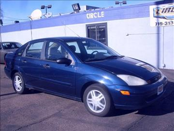 2001 Ford Focus for sale at Circle Auto Center in Colorado Springs CO