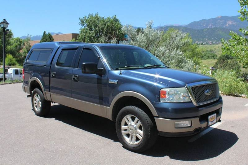2004 Ford F-150 for sale at Circle Auto Center in Colorado Springs CO