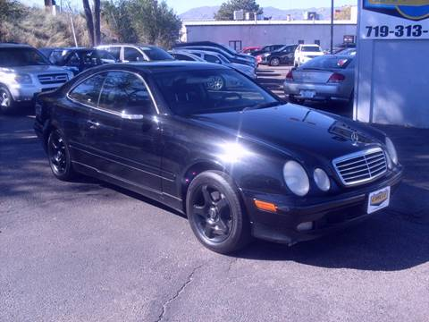 2002 Mercedes-Benz CLK for sale at Circle Auto Center in Colorado Springs CO