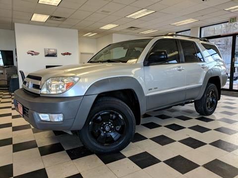 Toyota 4runner for sale in colorado springs co for Toyota motor city colorado springs