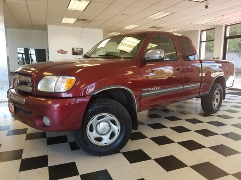 2003 Toyota Tundra SR5   Colorado Springs CO