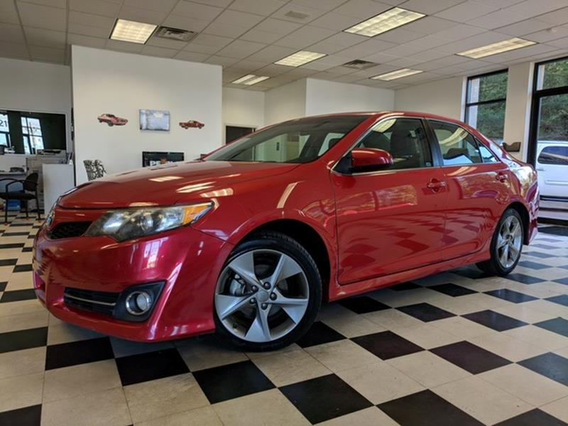 2012 Toyota Camry SE V6 4dr Sedan   Colorado Springs CO