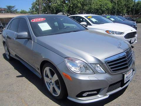 2010 Mercedes-Benz E-Class for sale at City Auto Center - Sacramento in Sacramento CA