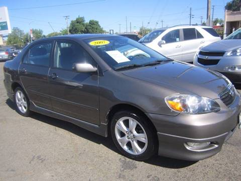 2007 Toyota Corolla for sale at City Auto Center - Sacramento in Sacramento CA