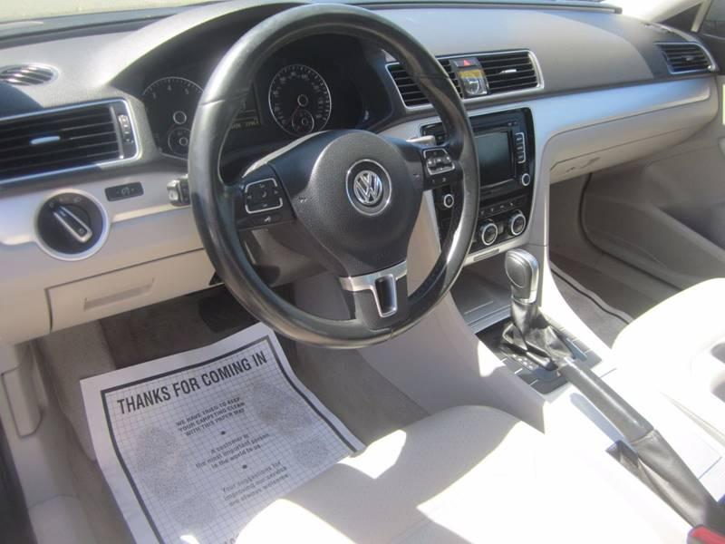 2012 Volkswagen Passat SE PZEV 4dr Sedan 6A - Sacramento CA