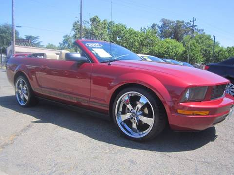 2005 Ford Mustang for sale at City Auto Center in Sacramento CA