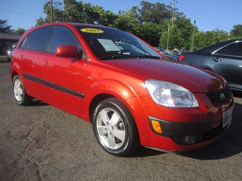 2007 Kia Rio5 for sale at City Auto Center in Sacramento CA