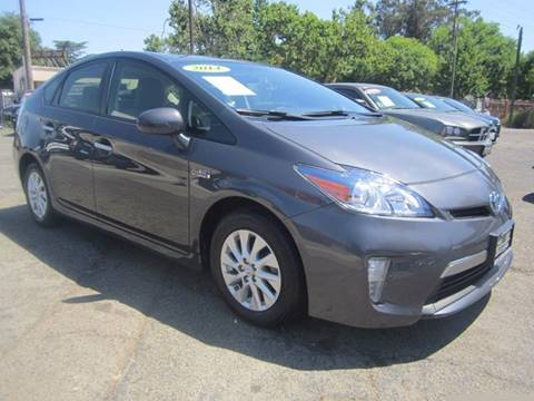 2014 Toyota Prius Plug-in Hybrid for sale at City Auto Center in Sacramento CA