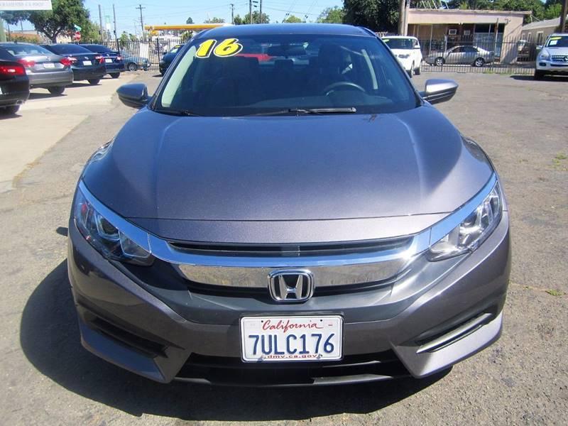 2016 Honda Civic LX 4dr Sedan CVT - Sacramento CA