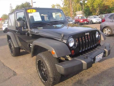 2011 Jeep Wrangler for sale in Davis, CA