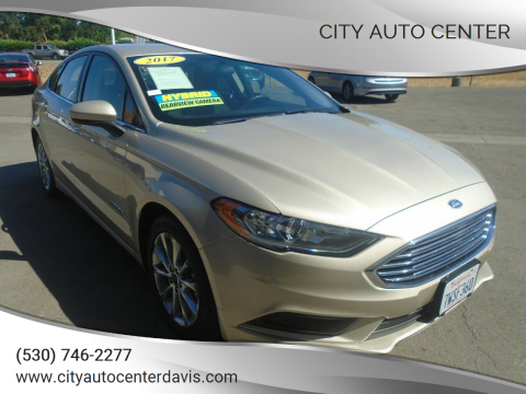 2017 Ford Fusion Hybrid for sale at City Auto Center in Davis CA
