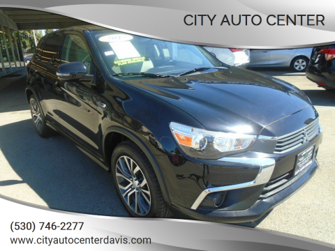 2017 Mitsubishi Outlander Sport for sale at City Auto Center in Davis CA