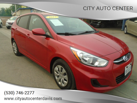 2017 Hyundai Accent for sale at City Auto Center in Davis CA