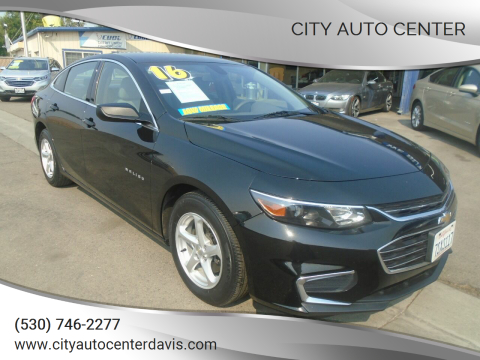 2016 Chevrolet Malibu for sale at City Auto Center in Davis CA