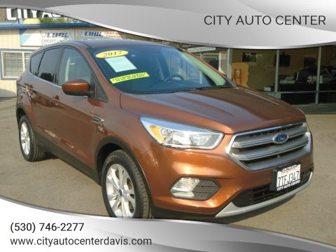 2017 Ford Escape for sale at City Auto Center in Davis CA