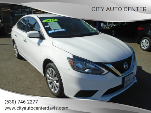 2019 Nissan Sentra for sale at City Auto Center in Davis CA