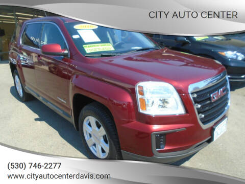 2016 GMC Terrain for sale at City Auto Center in Davis CA