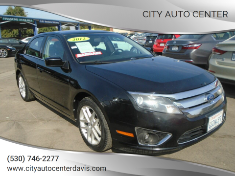 2012 Ford Fusion for sale at City Auto Center in Davis CA