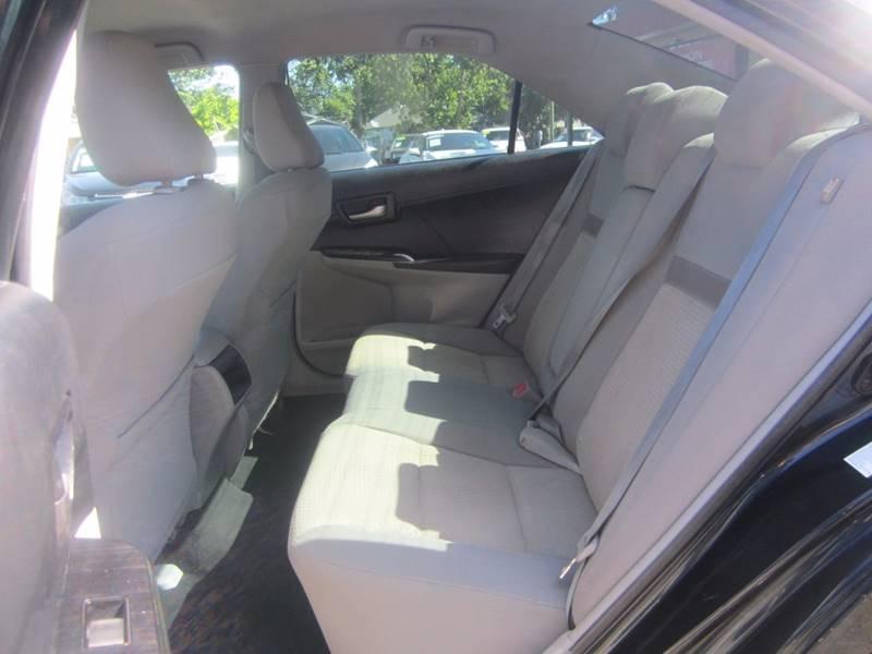 2012 Toyota Camry L 4dr Sedan - Sacramento CA