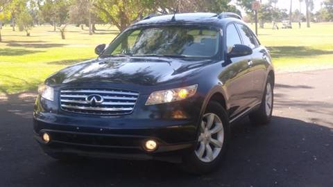 2005 Infiniti FX35 for sale at Car Mix Motor Co. in Phoenix AZ