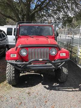 2003 Jeep Wrangler for sale at Windsor Auto Sales in Charleston SC