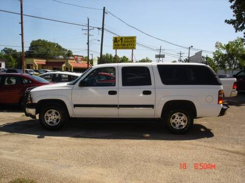 2004 Chevrolet Suburban 1500 for sale at A-1 Auto Sales in Conroe TX