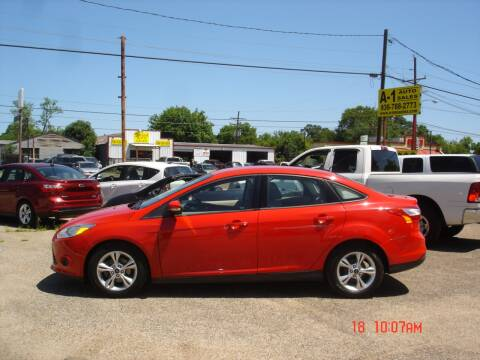 2013 Ford Focus SE for sale at A-1 Auto Sales in Conroe TX