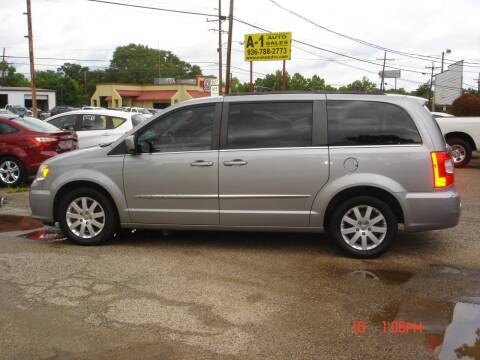 2014 Chrysler Town and Country Touring for sale at A-1 Auto Sales in Conroe TX