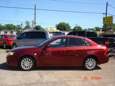 2010 Subaru Impreza 2.5i Premium for sale at A-1 Auto Sales in Conroe TX
