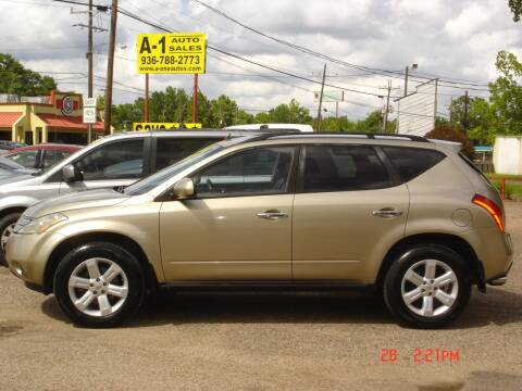 2007 Nissan Murano SL for sale at A-1 Auto Sales in Conroe TX