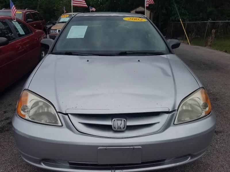 2002 Honda Civic LX 2dr Coupe - La Porte TX