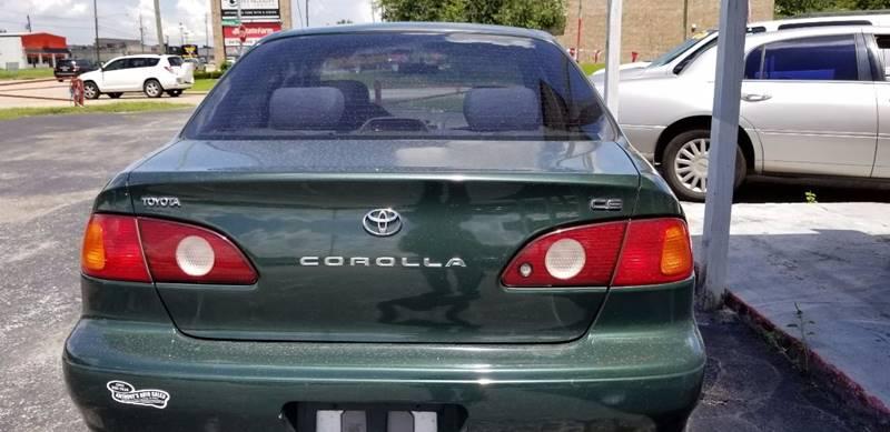 2001 Toyota Corolla CE 4dr Sedan - La Porte TX