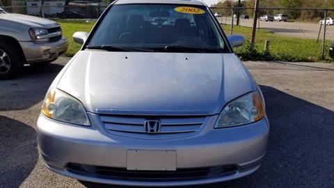 2002 Honda Civic for sale in La Porte, TX