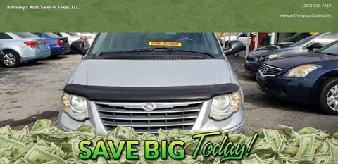 2006 Chrysler Town and Country for sale at Anthony's Auto Sales of Texas, LLC in La Porte TX